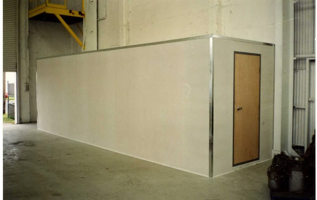 Fire Resistant Storeroom and Archive Manufacture